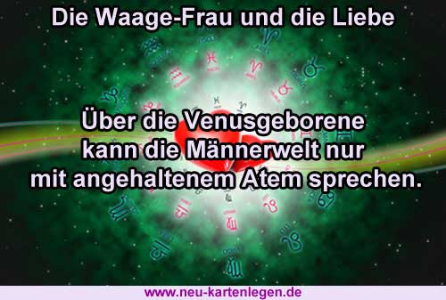 Single horoskop waage frau