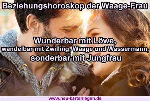 Beziehungshoroskop der Waage-Frau