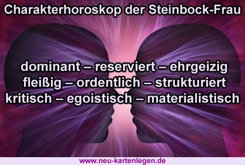 Horoskop single steinbock frau