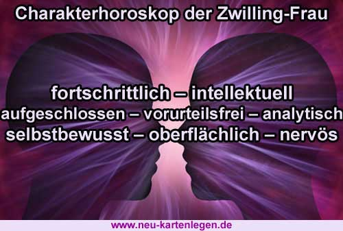 Horoskop zwilling frau single