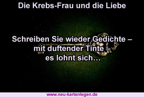Horoskop krebs frau single
