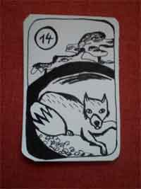 Lenormandkarte der Fuchs