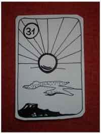 Lenormandkarte die Sonne