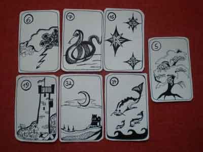 Gefühlskarten bei den Lenormandkarten